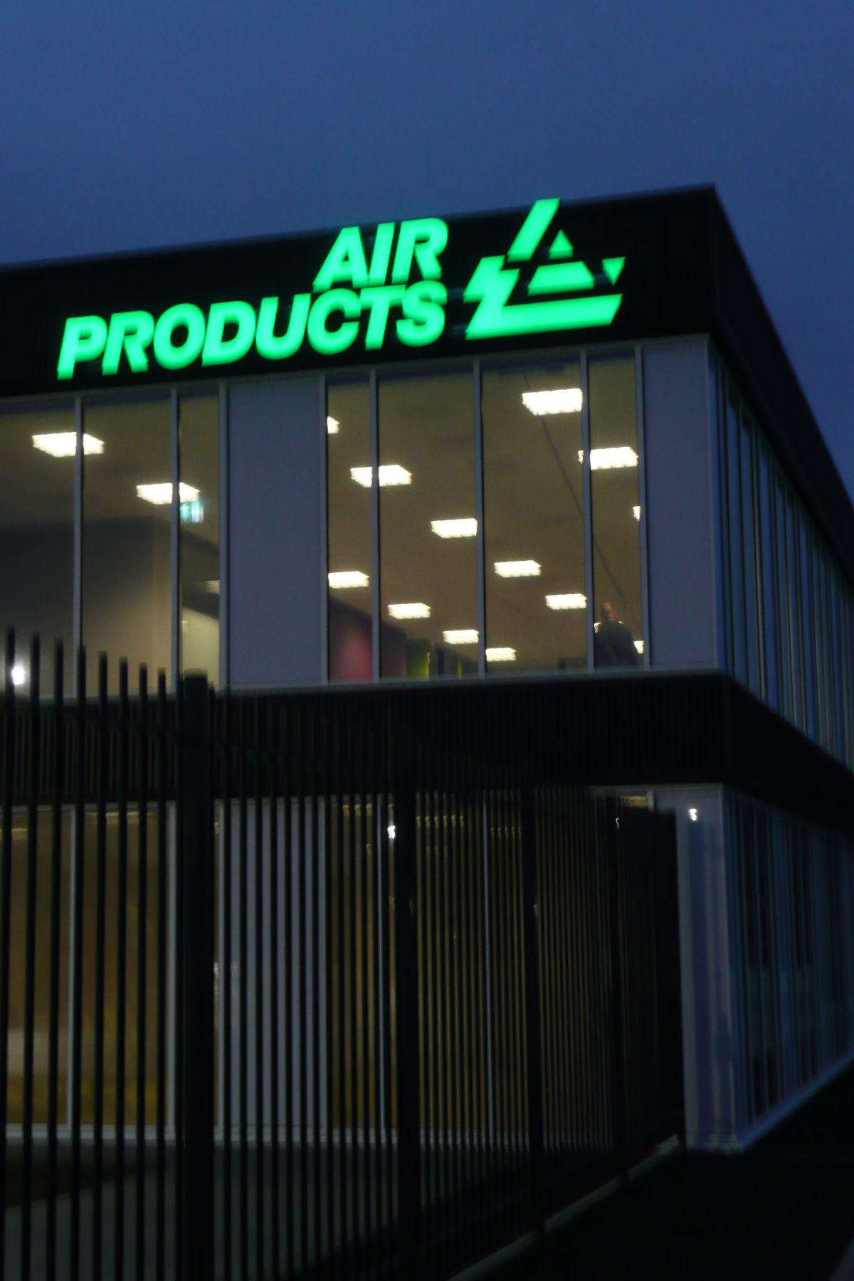 Gevelreclame Air Products