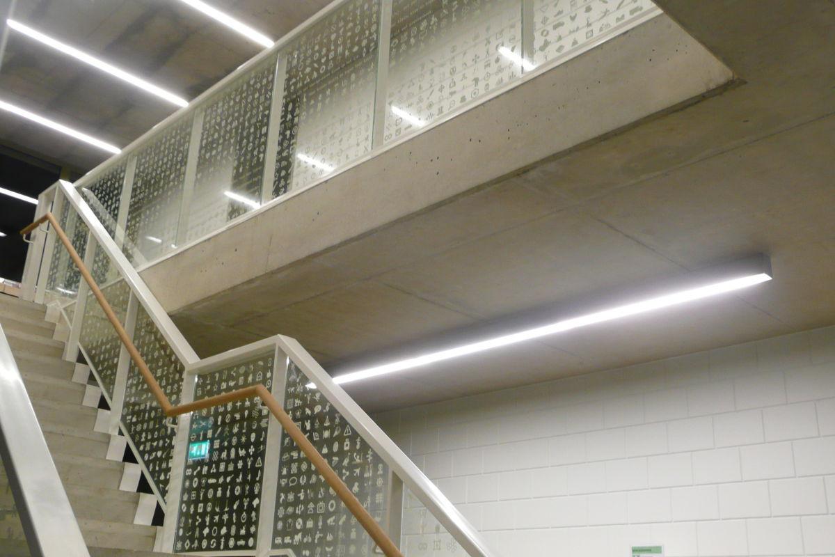 Glasfolie Bibliotheek Heusden