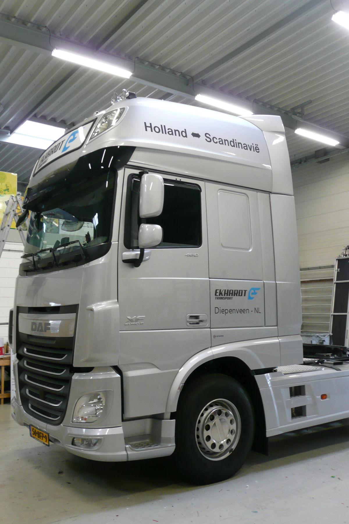Vrachtwagen Ekhardt Transport