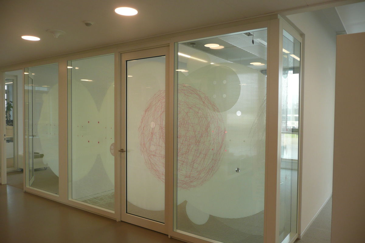 Glasfolie Gemeente Lochem Promotor ReclamePromotor Reclame