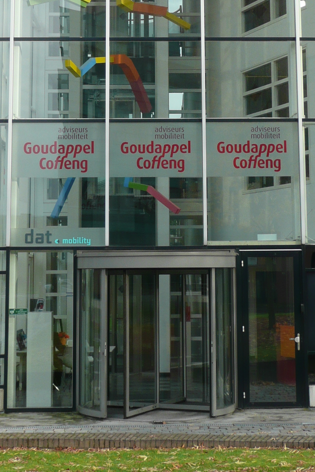 Gevelbelettering Goudappel Coffeng