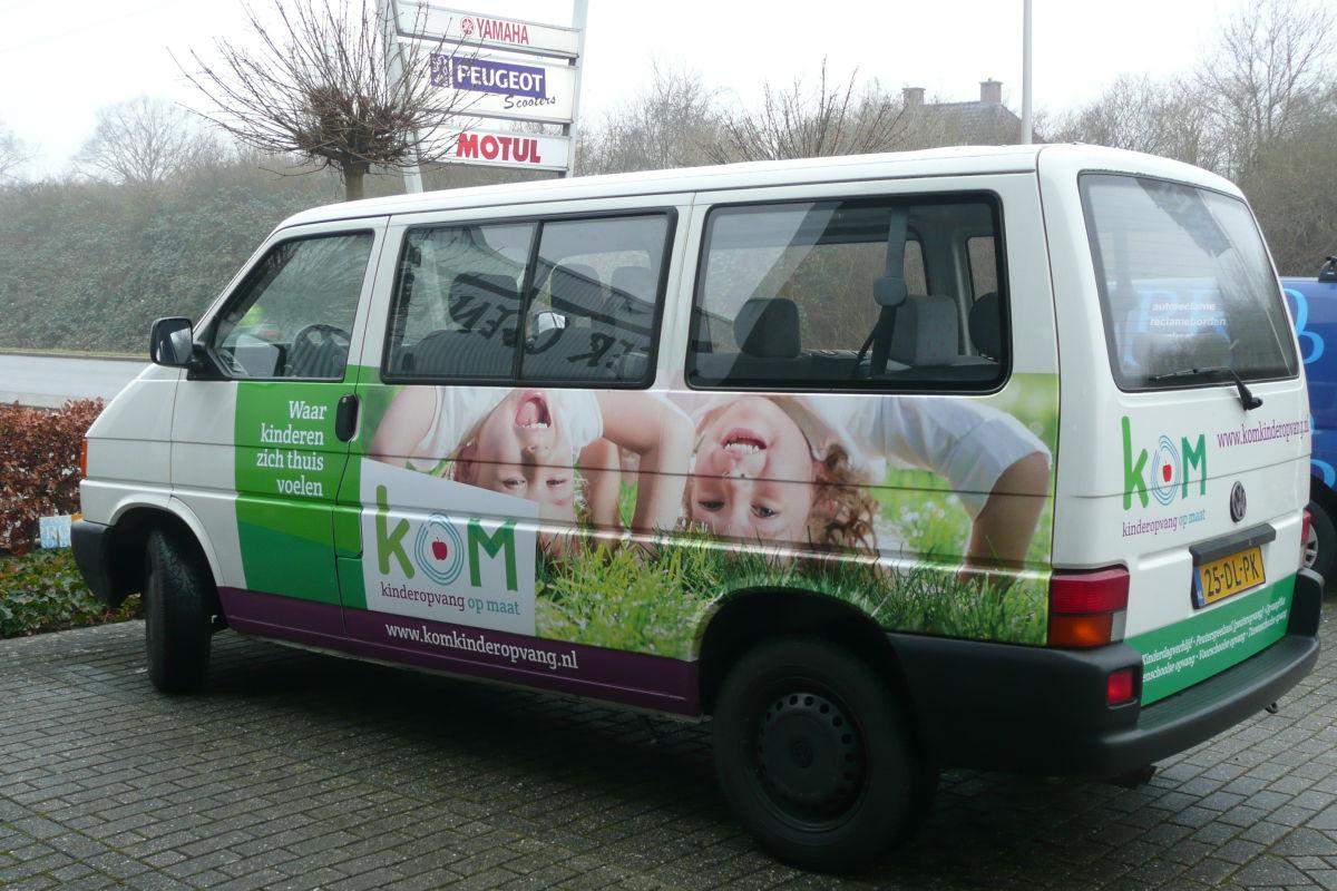 Autoreclame Kom Kinderopvang