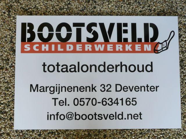 Logobord Bootsveld Schilderwerken