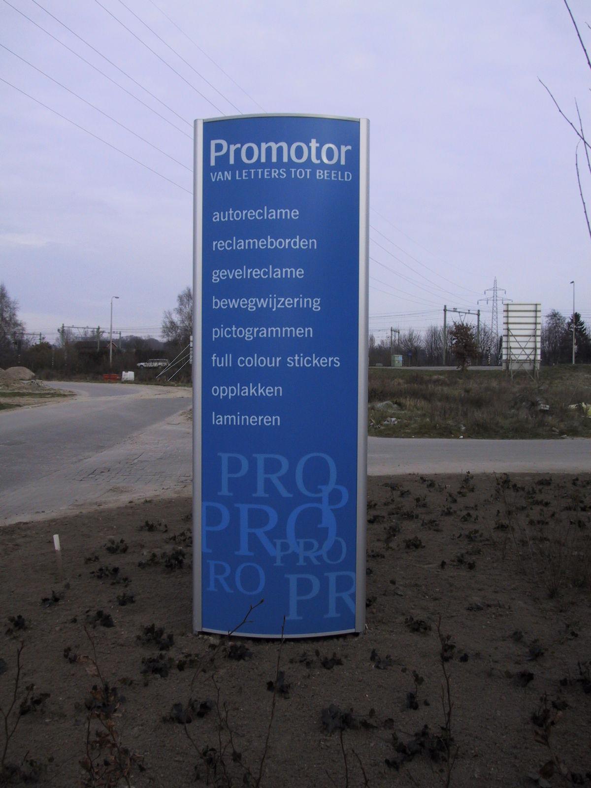 Reclamezuil Promotor