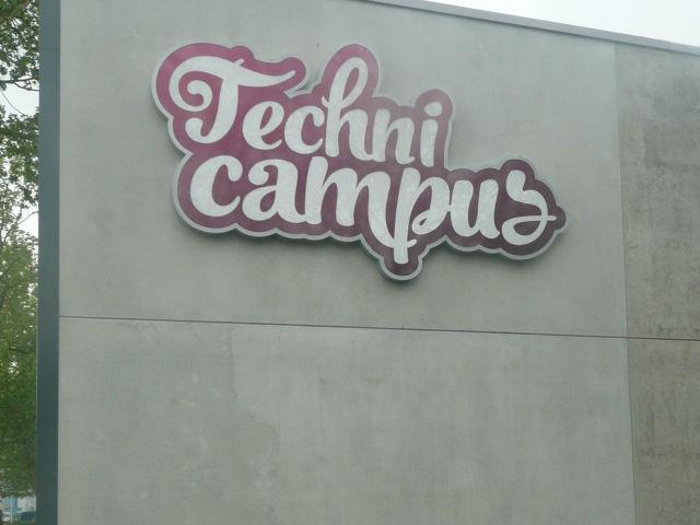 Gevelreclame Technicampus