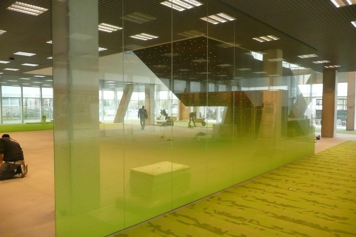 Glasfolie Universiteit Utrecht