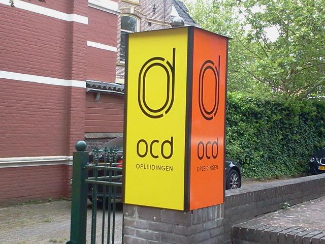 Zuil OCD Opleidingen