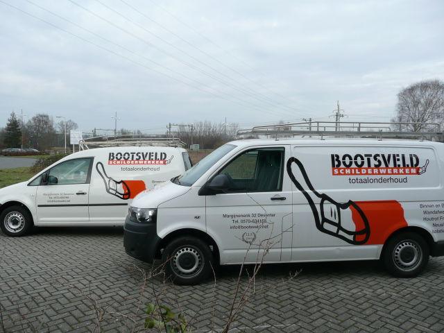 Autobelettering Bootsveld Schilder