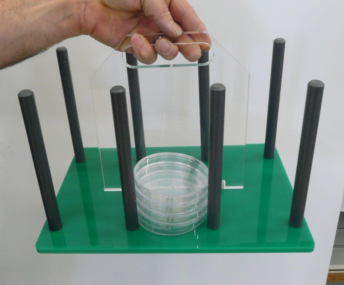 Laboratorium displays